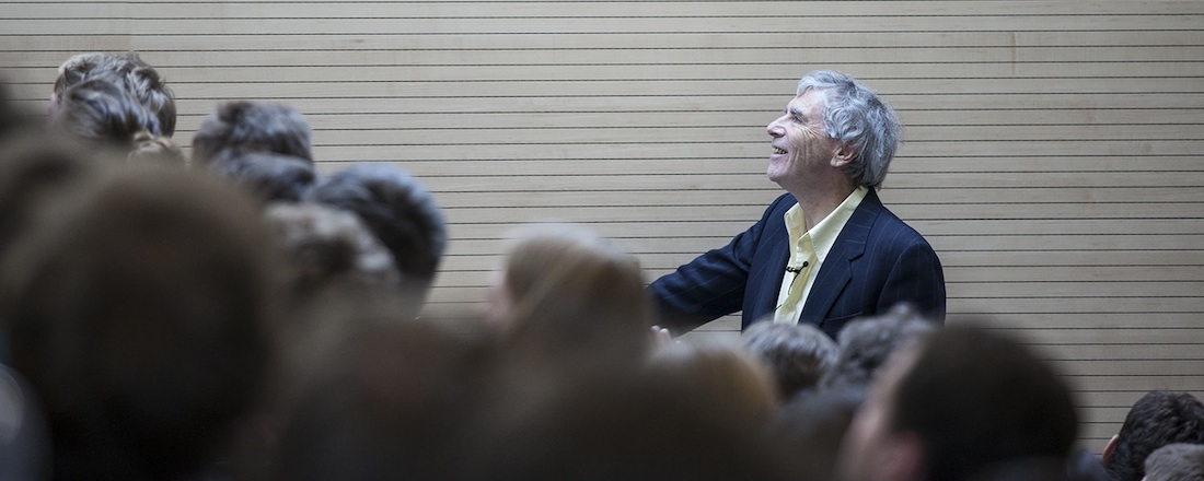 John Broome giving the 2014 Wittgenstein Lecture at the Univsersity of Bayreuth